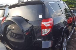 Foreign Used 2010 Black Toyota RAV4 for sale in Lagos.