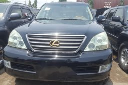 Foreign Used 2005 Black Lexus GX for sale in Lagos.