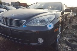 Foreign Used Lexus ES 2006 Model Black