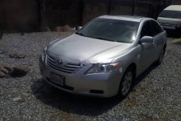 Foreign Used Toyota Camry 2008 Model Silver