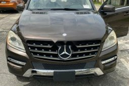 Foreign Used Mercedes-Benz ML350 2013 Model Brown