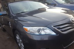 Foreign Used 2008 Dark Grey Toyota Camry for sale in Lagos.