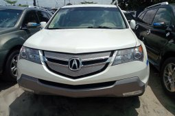 Nigeria Used Acura MDX 2009 Model White