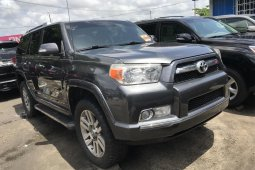 Foreign Used Toyota 4-Runner 2011 Model Gray