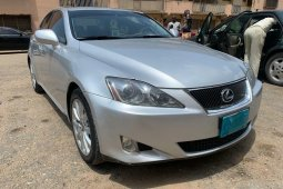 Nigeria Used Lexus IS 2008 Model Silver