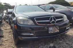 Foreign Used 2010 Black Mercedes-Benz C300 for sale in Lagos.
