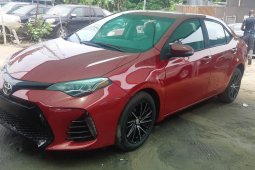 Foreign Used Toyota Corolla 2015 Model Red