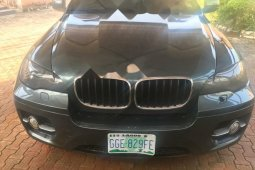 Nigeria Used BMW X6 2008 Model Gray