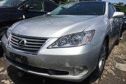 Foreign Used 2010 Silver Lexus ES for sale in Lagos.