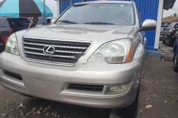 Foreign Used 2007 Gold Lexus GX for sale in Lagos.