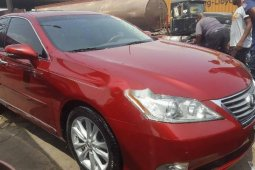 Foreign Used 2011 Red Lexus ES for sale in Lagos.