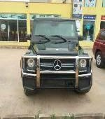 Tokunbo Mercedes-Benz G63 2019 Model Black