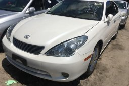 Foreign Used Lexus ES 2004 Model White