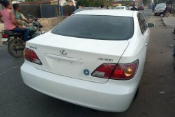 Foreign Used Lexus ES 2002 Model White