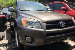Foreign Used 2010 Brown Toyota RAV4 for sale in Lagos.