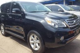 Foreign Used 2012 Black Lexus GX for sale in Lagos.