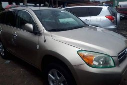 Foreign Used 2008 Gold Toyota RAV4 for sale in Lagos.