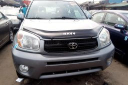 Foreign Used Toyota RAV4 2005 Model Silver