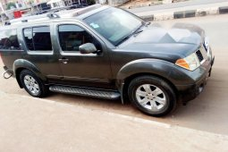 Locally Used 2007 Dark Green Nissan Pathfinder for sale in Lagos.
