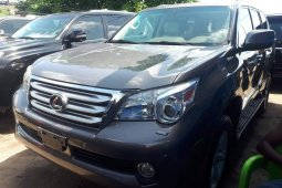 Foreign Used 2010 Grey Lexus GX for sale in Lagos.