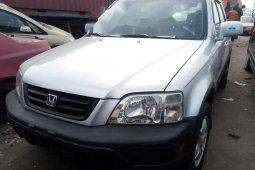 Foreign Used Honda CR-V 2001 Model Silver