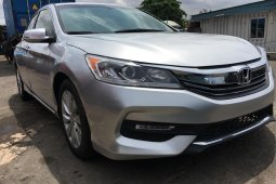 Foreign Used 2013 Silver Honda Accord for sale in Lagos.