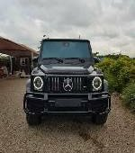 Tokunbo Mercedes-Benz G63 2015 Model Black
