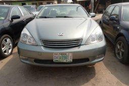 Nigeria Used Lexus ES 2003 Model Gray