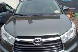 Foreign Used Toyota Highlander 2014 for sale