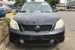 Foreign Used Toyota Matrix 2004 Model Black