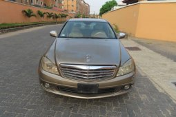 Nigeria Used Mercedes-Benz C300 2008 Model Gold