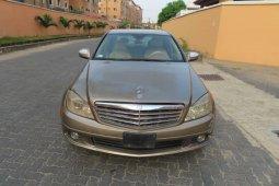 Nigeria Used Mercedes-Benz C300 2008 Model Gold