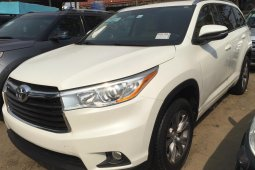 Tokunbo Toyota Highlander 2015 Model