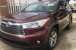 Foreign Used 2015 Toyota Highlander for sale