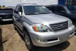Foreign Used 2006 Silver Lexus GX for sale in Lagos.