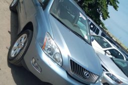Foreign Used 2008 Blue Lexus RX for sale in Lagos.