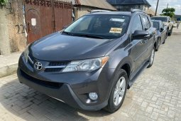 Newly arrived 2014 Toyota RAV4 XLE with rear camera