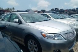 Foreign Used 2008 Silver Toyota Camry for sale in Lagos.