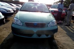 Foreign Used 2007 Green Toyota Corolla for sale in Lagos.
