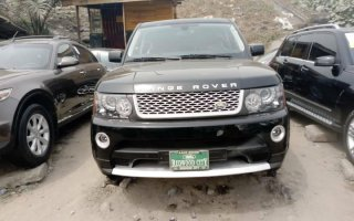 Tokunbo Land Rover Range Rover 2006 Model Black