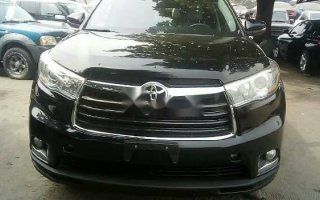 Foreign Used Toyota Highlander 2015 Model Black