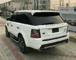 Nigeria Used Land Rover Range Rover Sport 2008 Model White