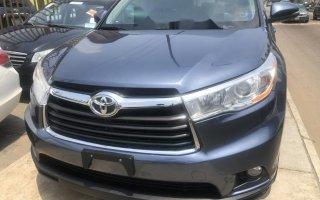 Tokunbo Toyota Highlander 2014 Model Gray