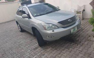 Nigeria Used Lexus RX 2006 Model Silver