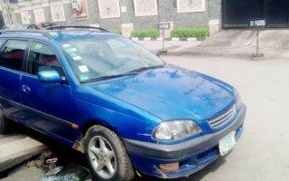 Nigeria Used Toyota Avensis 2003 Model Blue
