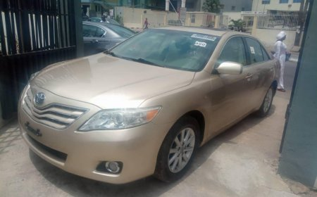 All Luxury Toyota Cars For Sale In Nigeria On Naijacarmarket Com