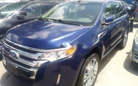 New And Used Ford Edge For Sale At Best Prices In Nigeria