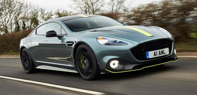 Have a feel of the Rapide AMR - The last of the old school line from Aston Martin