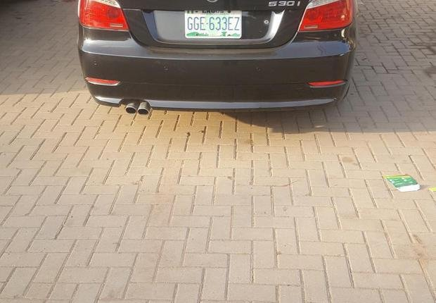 BMW 530i 2009 Black for sale-0