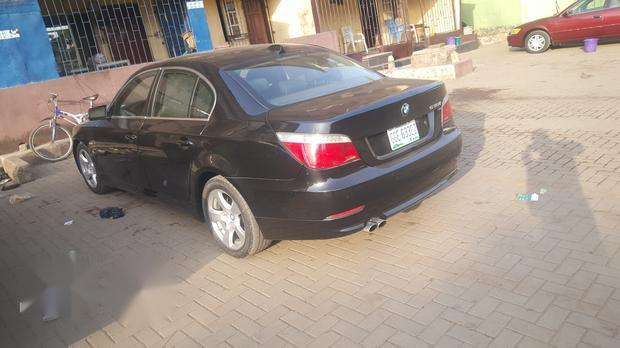 BMW 530i 2009 Black for sale-1
